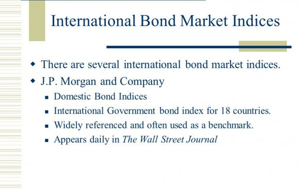 International Bond Market - ppt download